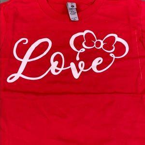Love Minnie shirt